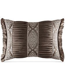 """J. Queen New York Stafford Boudoir 15"""" x 21"""" Decorative Pillow"""