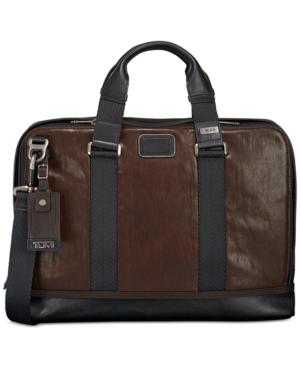 Tumi Men's Andrews Leather Slim Briefcase
