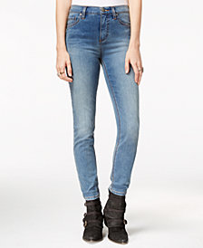 Free People High-Rise Roller Skinny Jeans