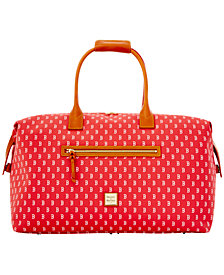 Dooney & Bourke Cincinnati Reds Signature Duffle
