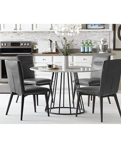 Callisto Marble Round Kitchen Furniture Collection, Created for Macy's