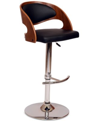 Malibu Swivel Barstool Quick Ship  sc 1 st  Macyu0027s & Faux Leather Bar Stools and Counter Stools - Macyu0027s islam-shia.org