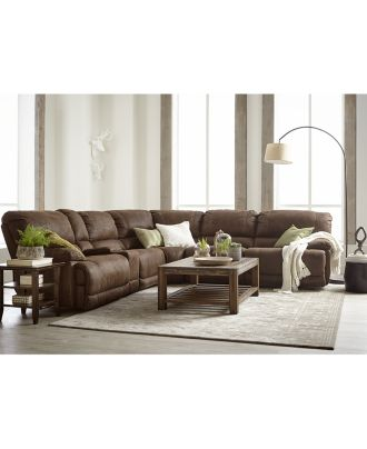 Jedd Fabric Power Reclining Sectional Sofa Collection - Furniture