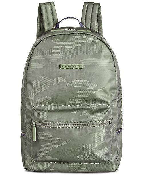 4143331f41ae Tommy Hilfiger Men s Alexander Camo Backpack   Reviews - All ...
