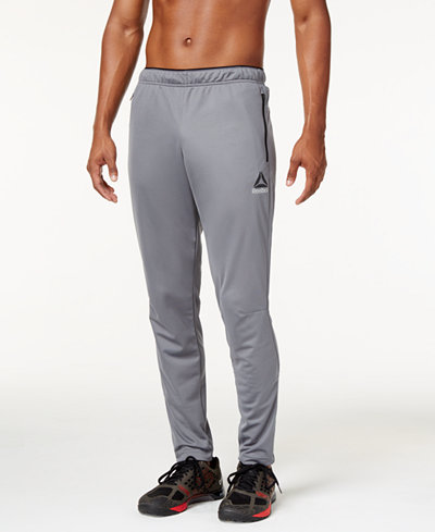 Men's outdoor pants are constructed with abrasion-resistant fabrications for extra durability in the field. Working out doesn't mean sacrificing style. The latest men's workout pants are designed in sleek colors and technical detailing, so the competition knows you've come to play.