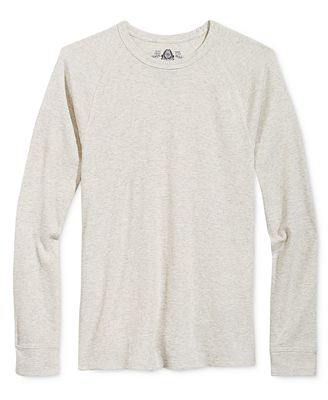 American Rag Men's Long-Sleeve Thermal Shirt, Created for Macy's ...