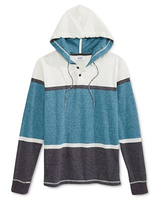 Univibe Men's Colorblocked Hoodie