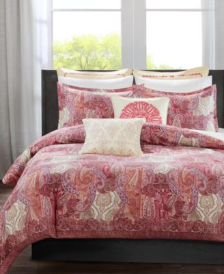 CLOSEOUT! Florentina Pink Twin Duvet Set