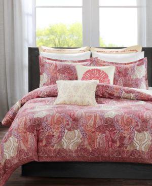 Closeout! Echo Florentina Pink King Duvet Set Bedding 2873524