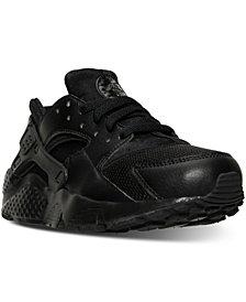 6272585b16e13 new zealand nike big boys huarache run running sneakers from finish line  d71ac b1995