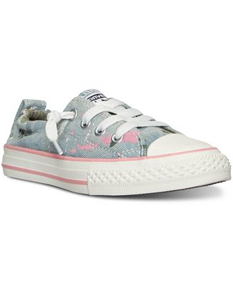Converse Little Girls' Chuck Taylor Shoreline Casual Sneakers from Finish Line