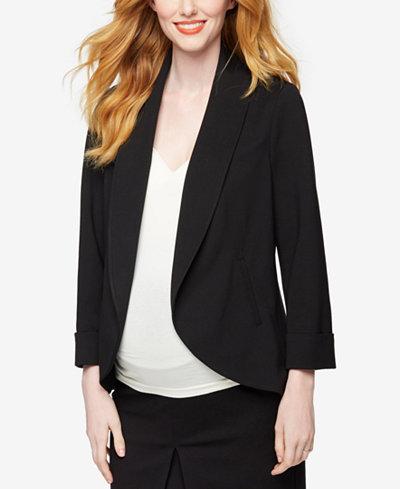 A Pea In The Pod Maternity Open-Front Blazer