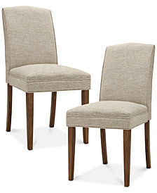 Camel Dining Chairs (Set Of 2), Quick Ship