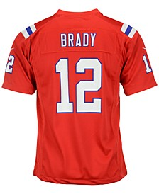 Kids' Tom Brady New England Patriots Game Jersey, Big Boys (8-20)