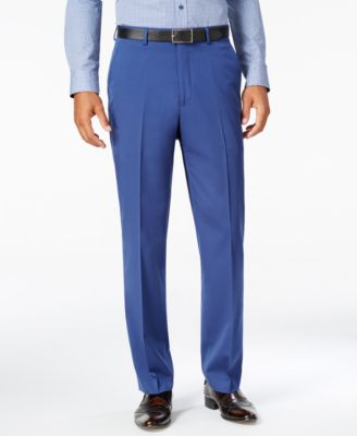 Men's Classic-Fit New Blue Pants
