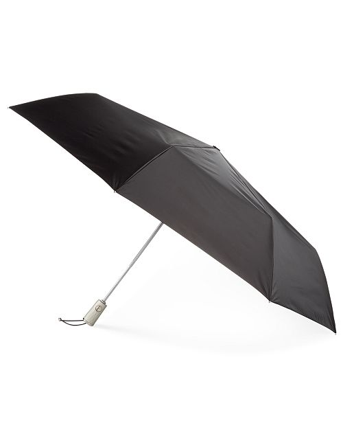 Totes SunGuard® Auto Open Close Golf Size Umbrella with NeverWet®