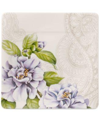 Quinsai Garden Collection Camellia Square Bread & Butter Plate