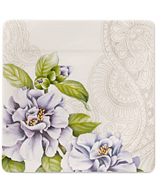 Villeroy & Boch Quinsai Garden Collection Camellia Square Bread & Butter Plate
