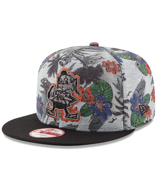 timeless design eaaa4 eb67e ... low cost new era. cleveland browns cool breeze trop 9fifty snapback cap.  be the