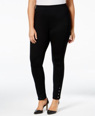 Style & Co. Plus Size Ponte Leggings, Only at Macy's
