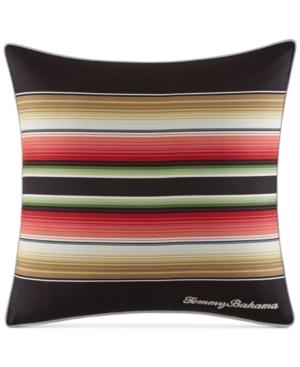 "Tommy Bahama Home Jungle Drive Stripe 18"" Square Decorative"