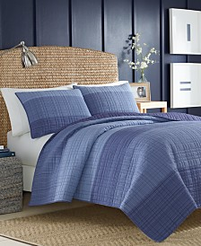 Nautica Riverview Colorblocked Quilt Collection