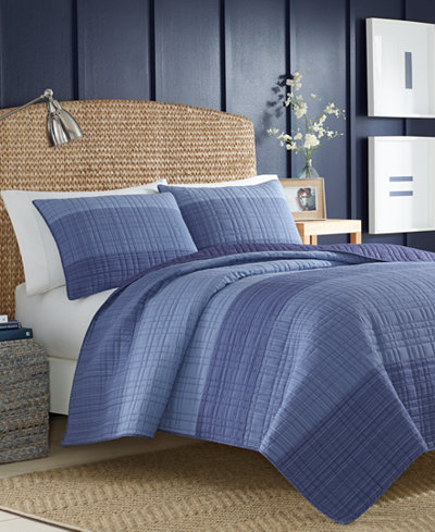 Nautica Riverview Colorblocked Twin Quilt