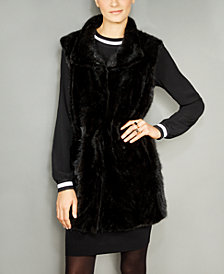 The Fur Vault Mink Fur Vest