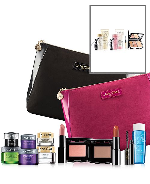 628530a1c8a ... Lancome Receive a FREE 7-Pc. gift with a $35 Lancôme purchase ...