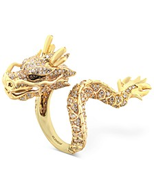 EFFY® Diamond Dragon Ring  (1 ct. t.w.) in 14k Gold