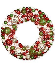 "20"" Wreath with Mix Ornaments"