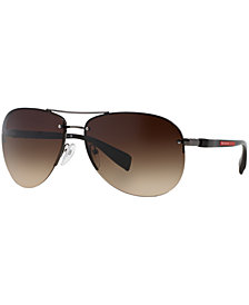 Prada Linea Rossa Sunglasses, PS 56MS 62