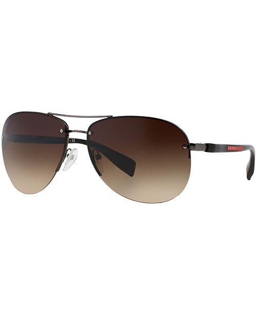 3daf1d6bc585 ... Prada Linea Rossa Sunglasses
