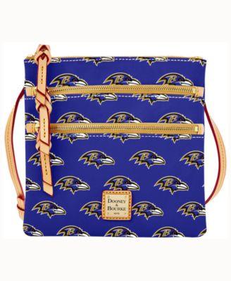 Baltimore Ravens Triple-Zip Crossbody Bag