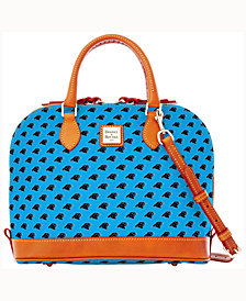 Dooney & Bourke Carolina Panthers Zip Zip Satchel