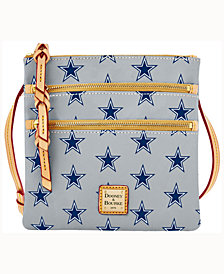 Dooney & Bourke Dallas Cowboys Triple-Zip Crossbody Bag