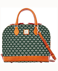 Dooney & Bourke Green Bay Packers Zip Zip Satchel