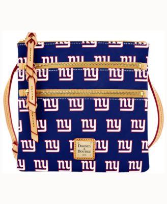 New York Giants Triple-Zip Crossbody Bag