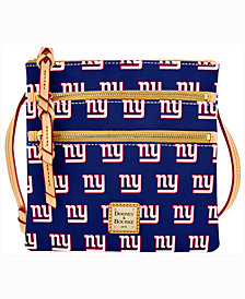 Dooney & Bourke New York Giants Triple-Zip Crossbody Bag