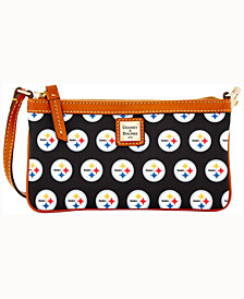 Dooney & Bourke Pittsburgh Steelers Large Slim Wristlet