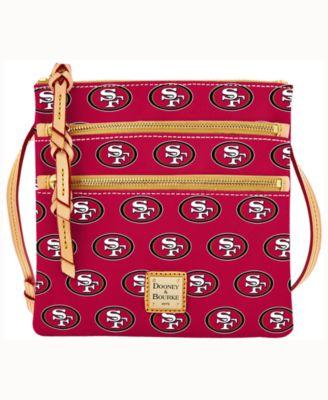 San Francisco 49ers Triple-Zip Crossbody Bag