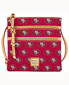 Dooney & Bourke San Francisco 49ers Triple-Zip Crossbody Bag