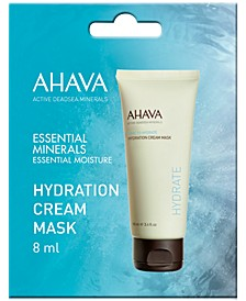 Receive a Free Hydration Cream Mask Packette with any $25 AHAVA purchase