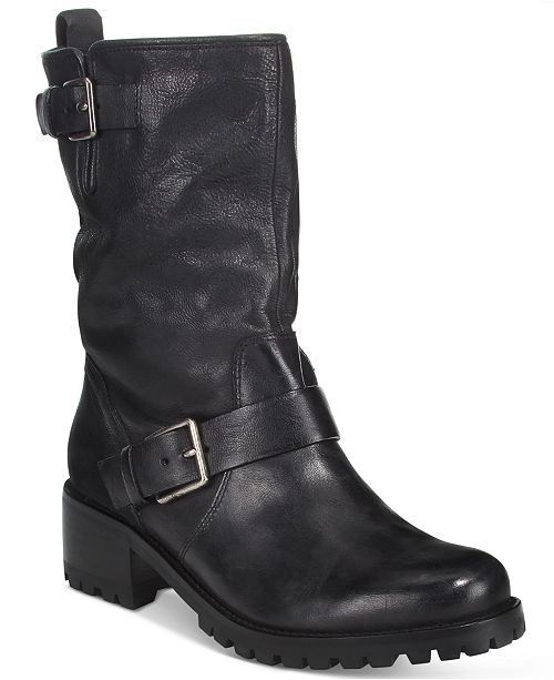 ad51886e5fc9 Cole Haan Hemlock Buckle Boots   Reviews - Boots - Shoes - Macy s