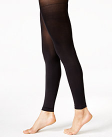 HUE® Women's Super Opaque Footless Tights