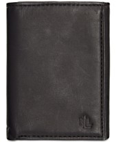75609b2dad8 Lauren by Ralph Lauren Burnished Leather Trifold Wallet