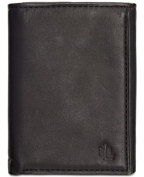 e4191d71775 ... Lauren Ralph Lauren Lauren by Ralph Lauren Burnished Leather Trifold  Wallet ...