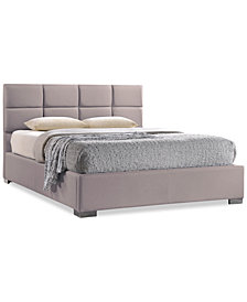 Esdale Modern & Contemporary King Upholstered Platform Bed, Quick Ship