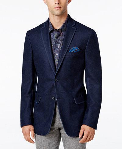 Tallia Men's Big & Tall Slim-Fit Navy Sport Coat