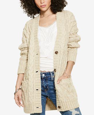 Denim & Supply Ralph Lauren Cable-Knit Boyfriend Sweater ...
